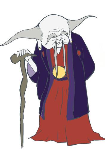 Mugihito como Ri Haku