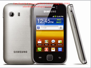 Cara Root Hp Samsung Android Galaxy Young GT-S5360