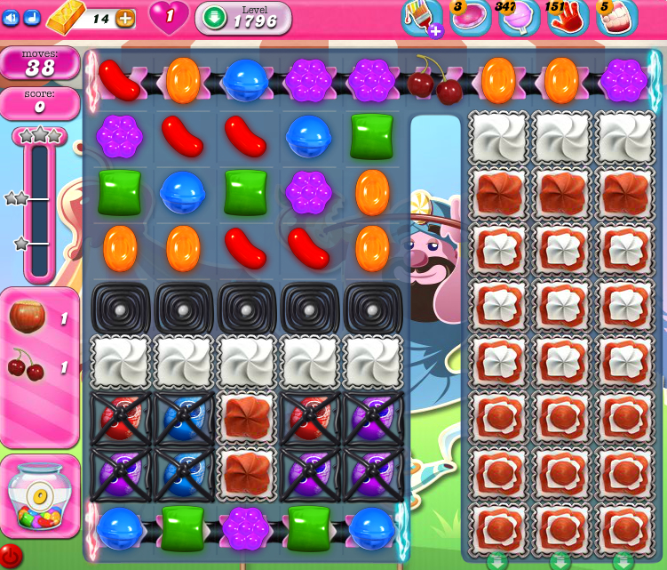Candy Crush Saga 1796