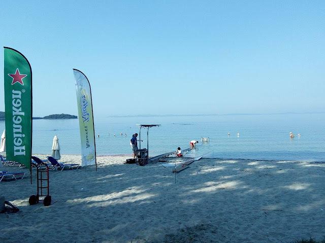 Ηγουμενίτσα: Τοποθετήθηκε η πρώτη ράμπα αναπήρων στην παραλία του Δρεπάνου