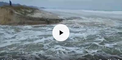 Rompimento do Cordão de Areia na Ilha do Cardoso em Cananéia