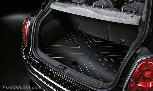 """Fiat 500X """"Black Tie"""" Trunk"""