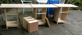 building schoolhouse desks