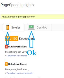 Cara Cek Kecepatan Loading Website atau Blog dan Cara meningkatkannya