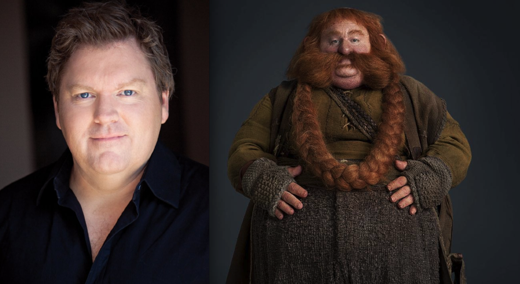 The Hobbit movie Dwarf cast before and after make-up