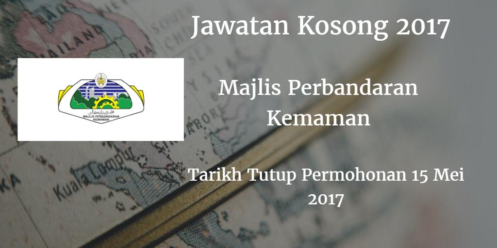 Jawatan Kosong MPK 15 Mei 2017