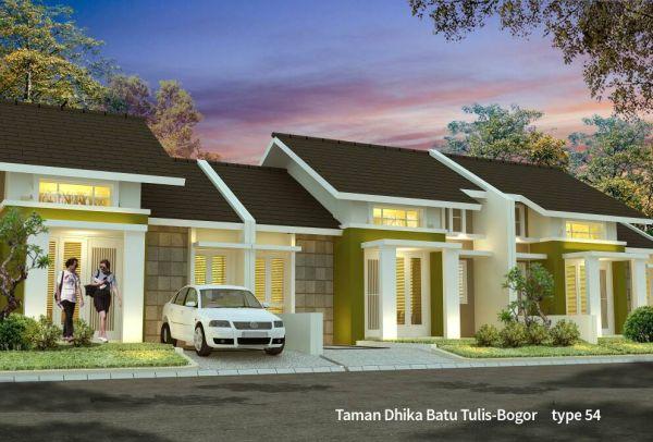 DataRumah: Jual Rumah Minimalis Baru di Taman Dhika Batu ...