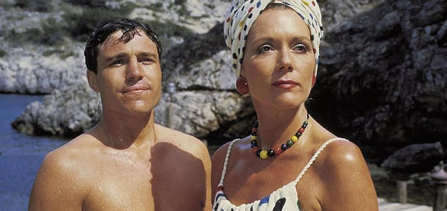 Nicholas Clay and Diana Rigg