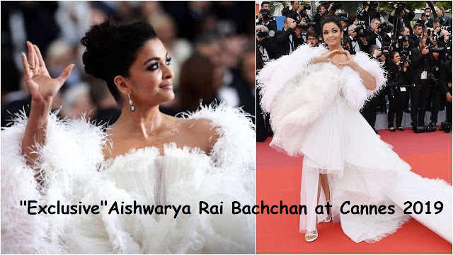 Aishwaya Rai at Cannes 2019 Wearing Ashi Studio