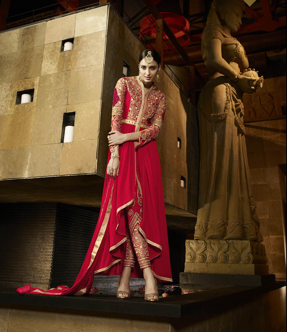 Aafreen – Royal Georgette Stylish And Heavy Salwar Suit