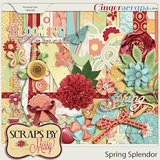 Spring Splendor by Scraps by Missy
