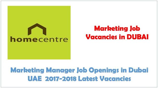 How to get marketing jobs in Dubai, Retail Marketing jobs in Dubai, Marketing Manager jobs with Salary in Dubai