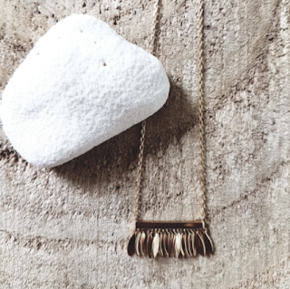 collier Jane - grain de sable bijoux