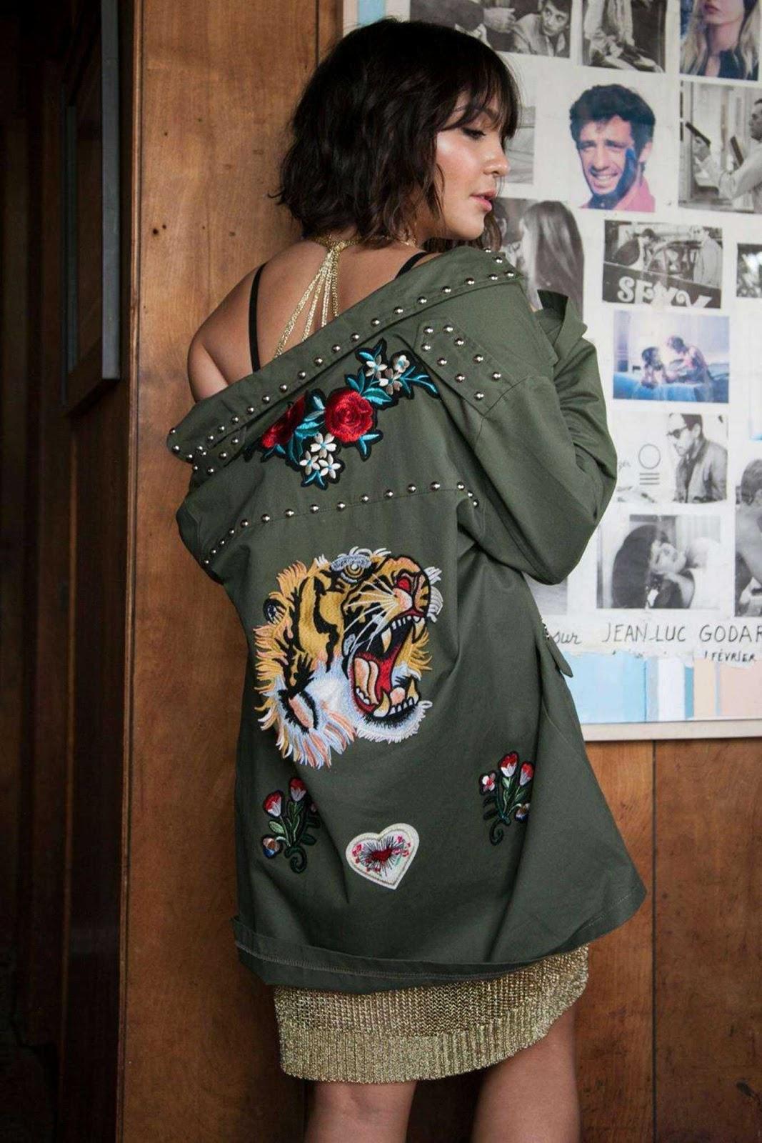 Stella Hudgens x Boohoo Campaign Summer 2017