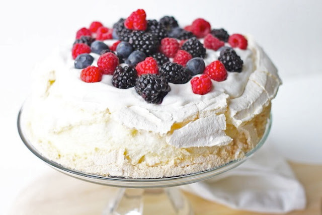 Berry trifle with homemade whipped cream - Cook and Post