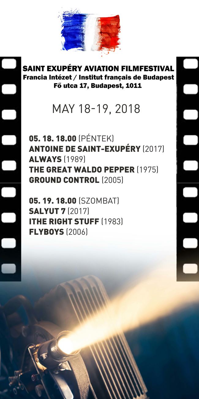 Aviation Movie Festival May 18-19 2018.Budapest Fr.Inst