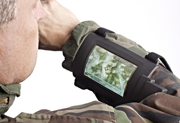 High Hopes: Universal Display wrist-worn military gadget
