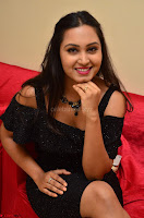South Actress Amulya in short black dress at Kalamandir Foundation 7th anniversary Celebrations ~  Actress Galleries 066.JPG