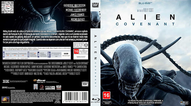 Capa Bluray Alien Covenant [Exclusiva]