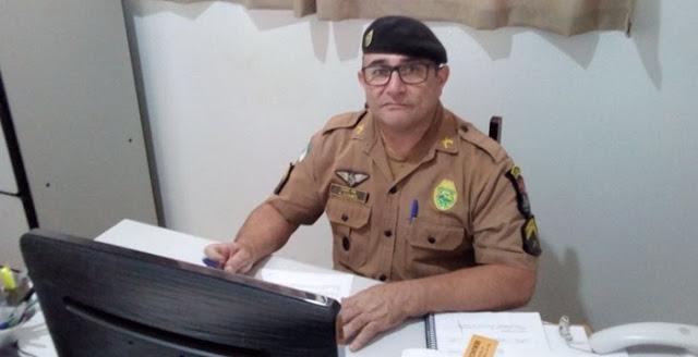 Cabo Gomes assume comando da Polícia Militar de Nova Cantu