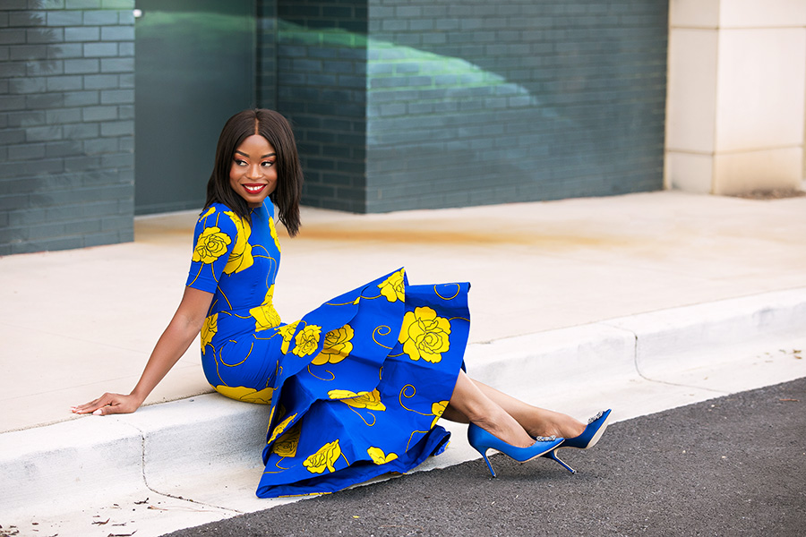 tiered dress, ankara dress, best dressed guest, www.jadore-fashion.com