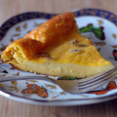 Pumpkin Spiced Clafouti (Baked Pancake)