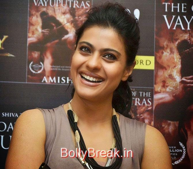 Kajol, Bollywood Actresses Lipstick Styles - Red, Pink, Nude