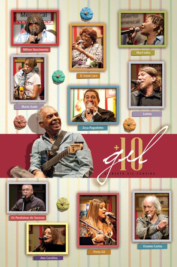 27e80ee8f0718 Em 13 de outubro de 2010, Gilberto Gil foi o anfitrião de show realizado no  Espaço Tom Jobim, no Rio de Janeiro (RJ), em comemoração aos 10 anos da  rádio ...