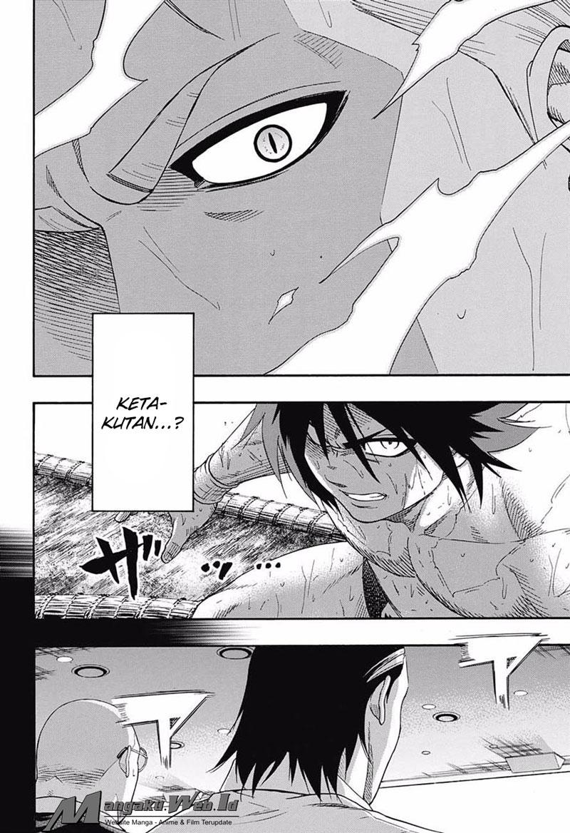 Hinomaru-Zumou – Chapter 147 : Onimaru Vs Kusanagi :  Debaran
