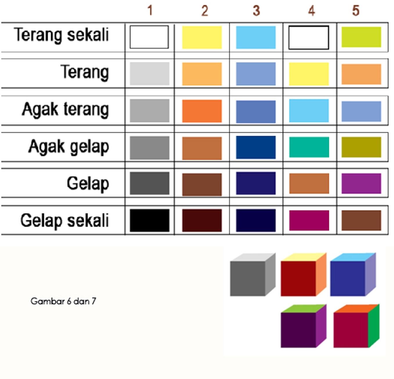 82 Gambar Warna Gelap Terang