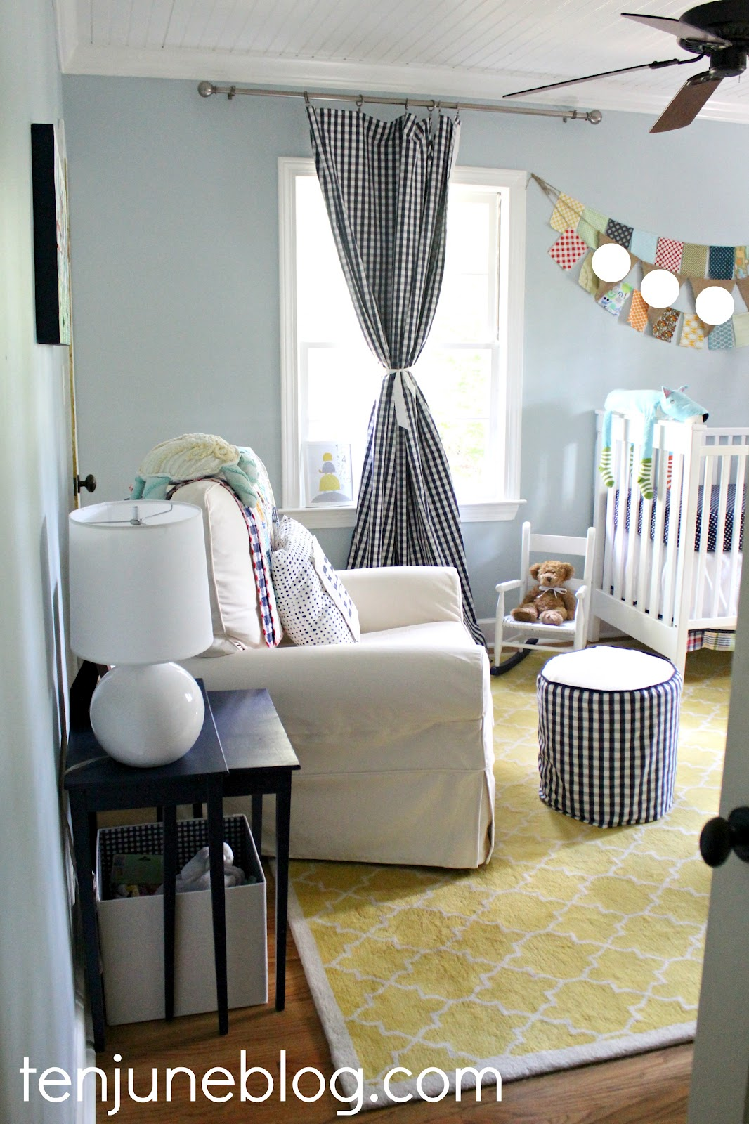 Slipcover For Rocking Chair Glider Hanging From Tree Ten June: Baby Boy Nursery Source List