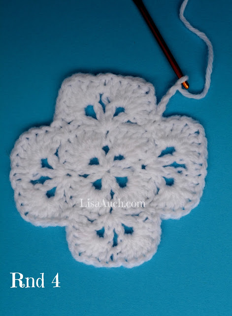 unique crochet stitch pattern LisaAuch crochet