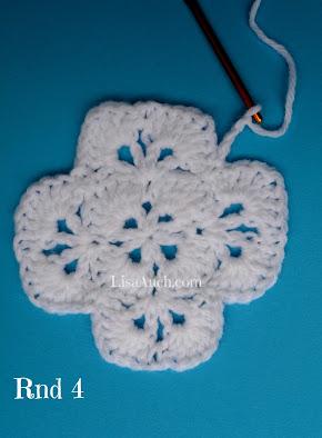 unique crochet stitch pattern LisaAuch crochet