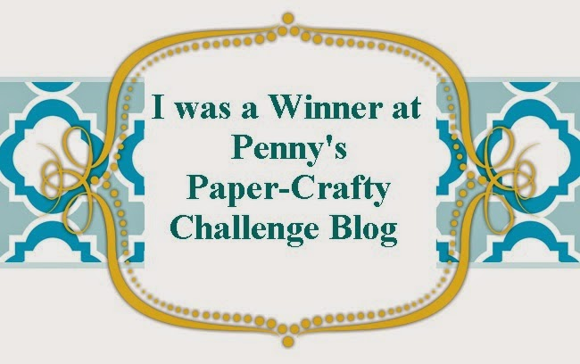 winner Penny´s Paper-Crafty  challenge blog