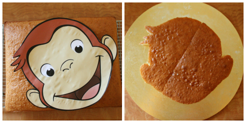 life as we know it...: How to create a Curious George cake  life as we know...