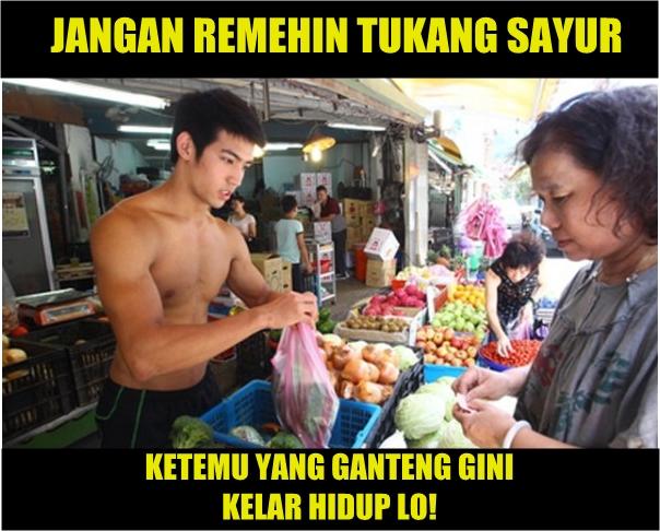 Meme Tukang Sayur