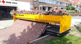 Tiger Stone brick-laying machine