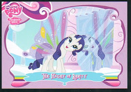 My Little Pony The Flight of Rarity Series 1 Trading Card