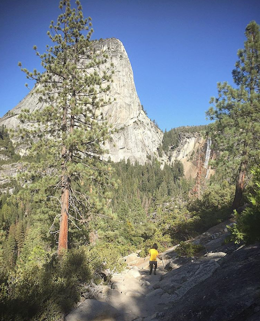 Panorama Trail. Half Dome