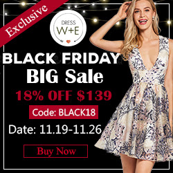Black Friday Sale at Dresswe