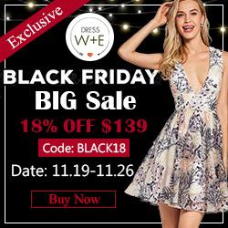 Black Friday Sale at Dresswe