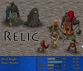 Download Game Flash Relic - Hanya Manusia Biasa