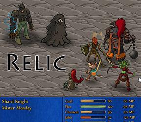 Download Game Flash Relic - Hanya Manusia Biasa