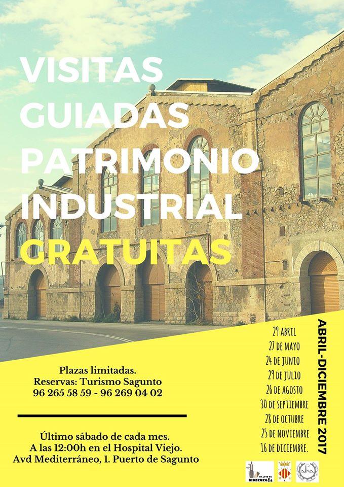 Patrimonio industrial arquitect nico visitas guiadas por for Oficina turismo sagunto