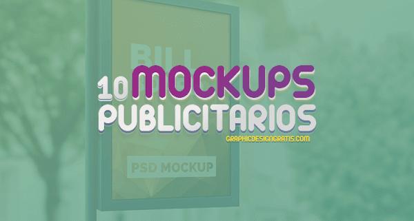 10 hermosos mockups publicitarios gratuitos para tus proyectos
