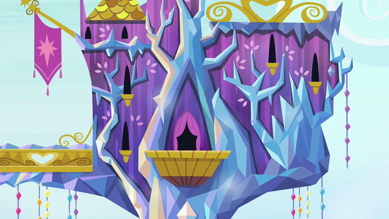 Hasbro Pop Princess Twilight Sparkle S Kingdom Playset