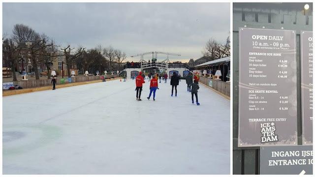 pista hielo museumplein
