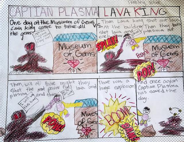 diy kids comic strip
