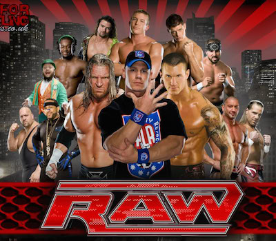 WWE Monday Night Raw 15 August 2016