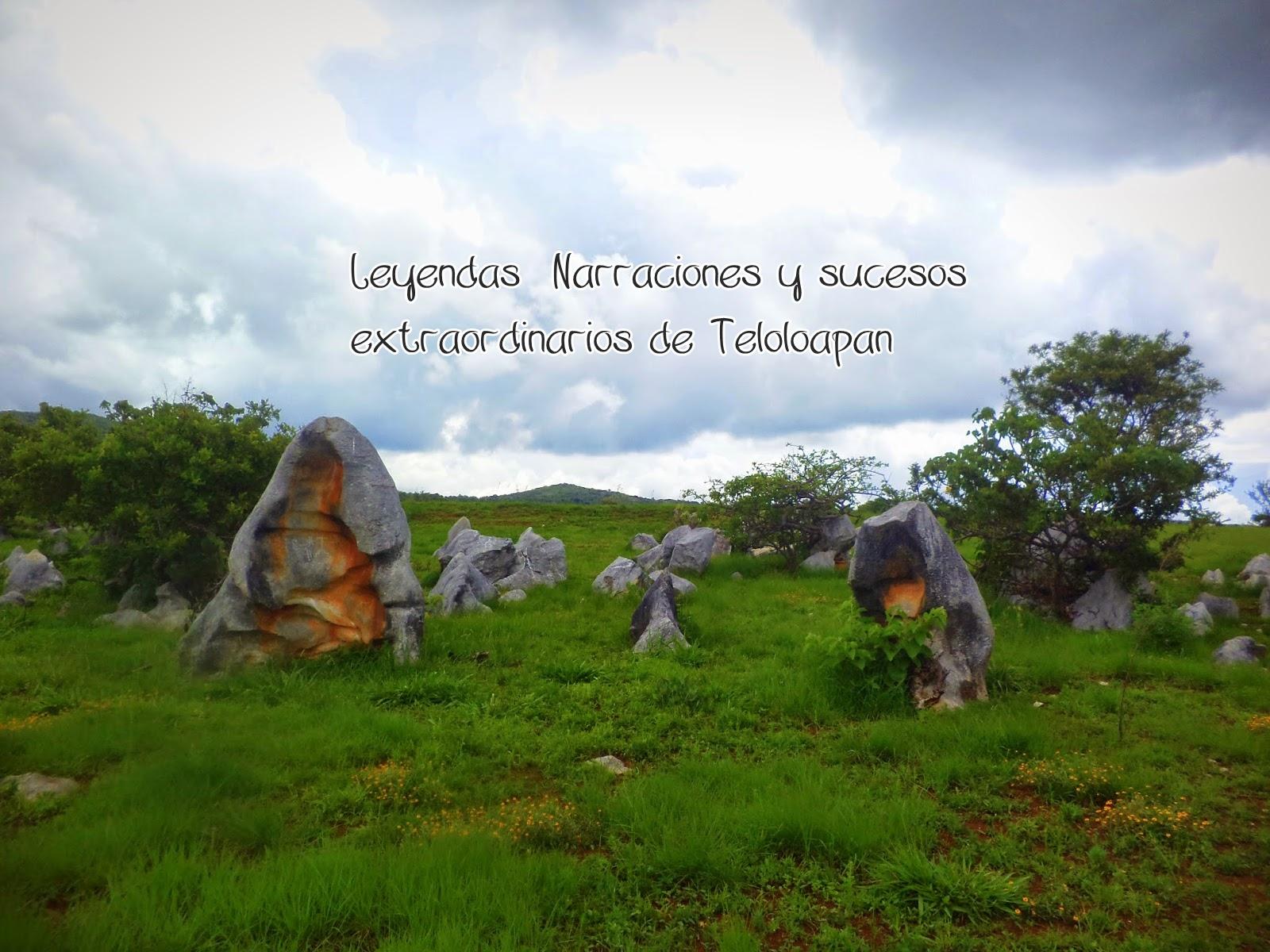 Leyendas, narraciones y sucesos extraordinarios de Teloloapan, Guerrero: LAS PASTORAS QUE SE CONVIRTIERON EN PIEDRA (LEYENDA)
